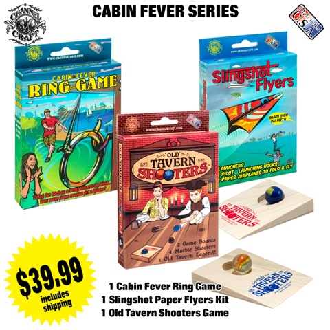 ACTIVITY SET-CABIN FEVER