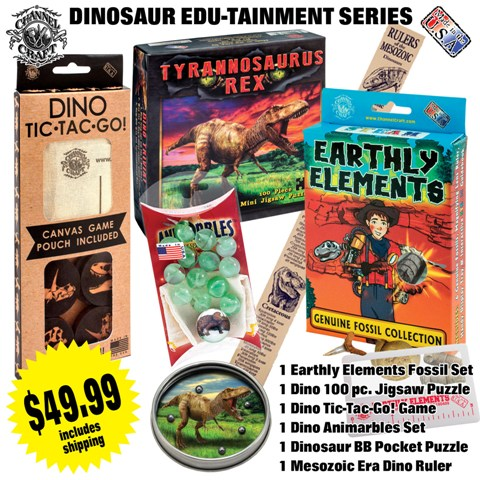 ACTIVITY SET-DINOSAUR SERIES