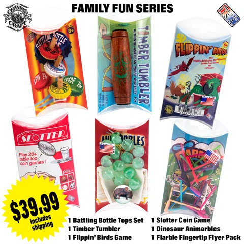 ACTIVITY SET-FAMILY FUN