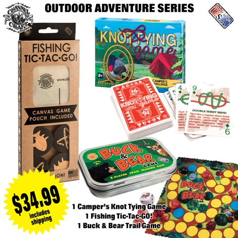 ACTIVITY SET-OUTDOOR ADVENTURE