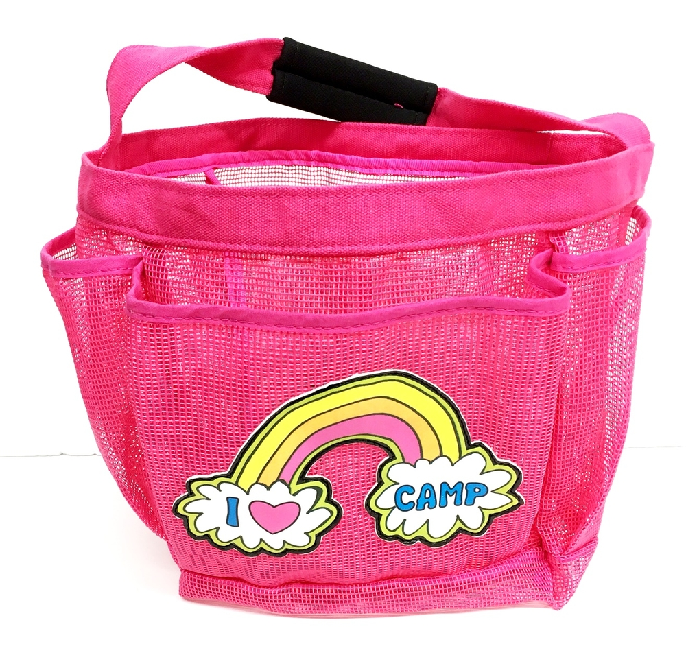Open Shower Caddies - Camp Stuff 4 Less